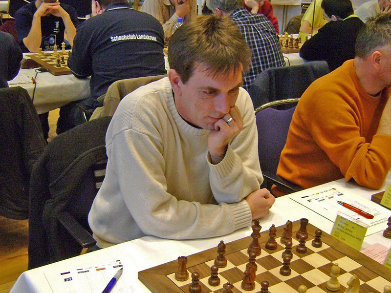 """After 25 years of playing chess I'm now also playing 1.d4 as White ;-)... I also got my first ELO rating this year which is 2052 now"", Achim from Rheine, Germany, November 2009"