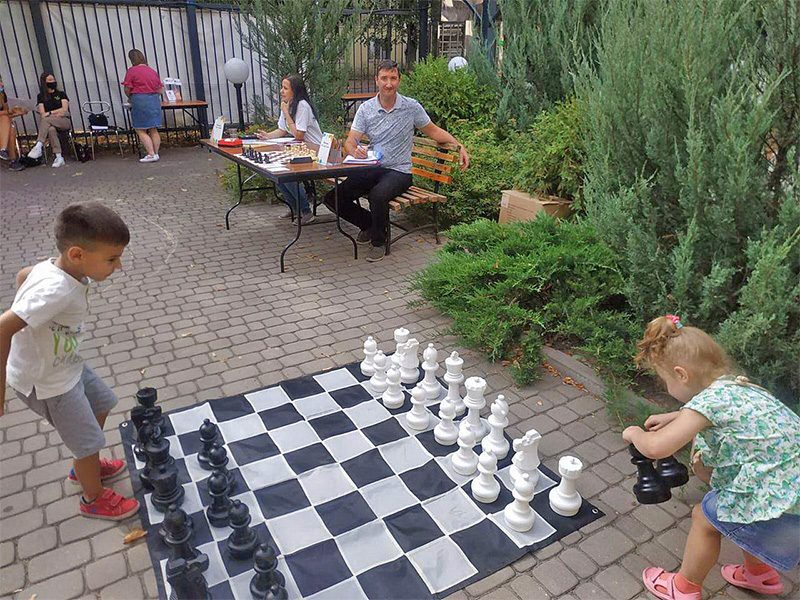 Preparing for chess season 2020/21 at the local club, September 2020