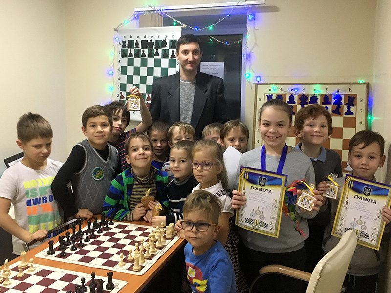 Kids' tournament at the local club, December 2019